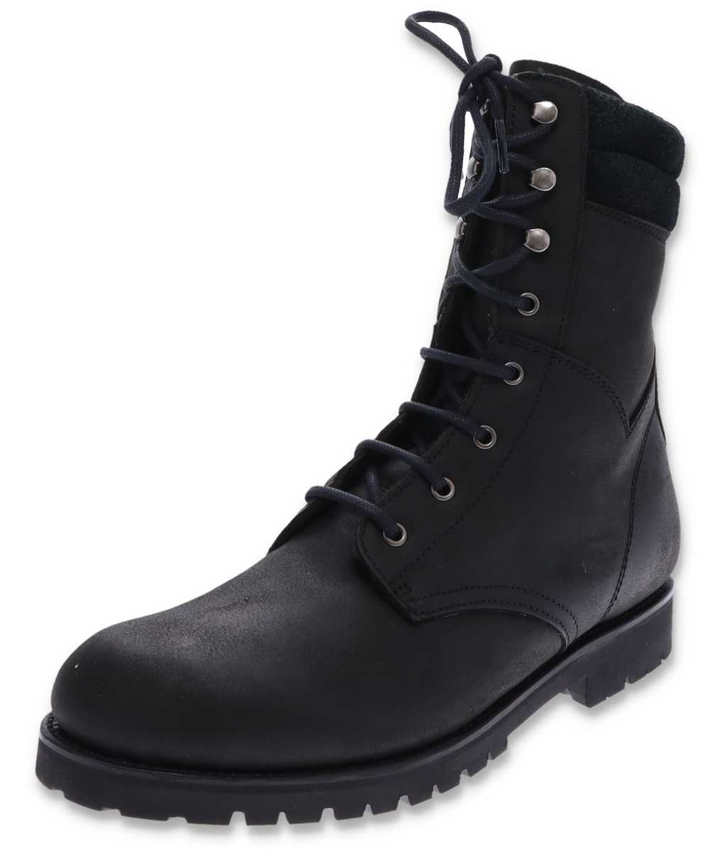 FB Fashion Boots MONTANA Negro biker boots with Thinsulate - black