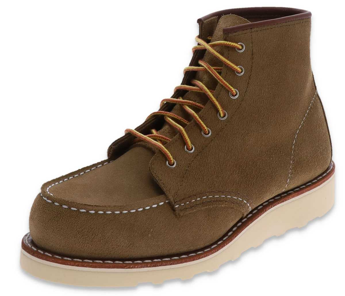 Red Wing Shoe 3377 MOC TOE Olive Ladies Lace-up Boots