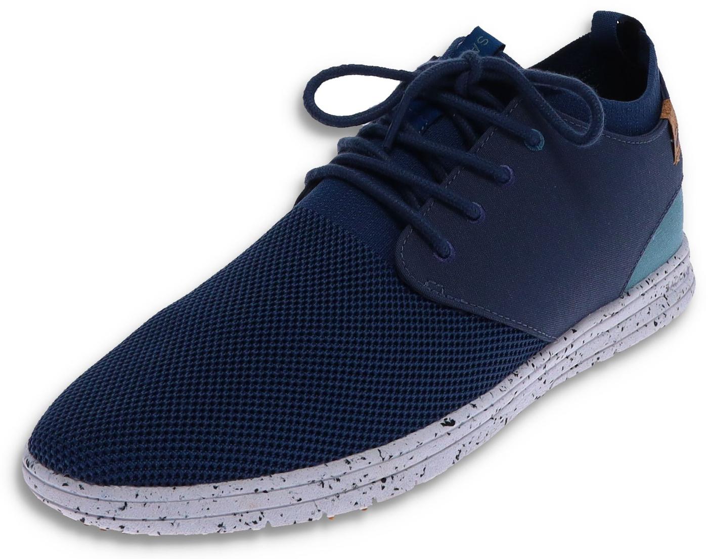 Saola SEMNOZ II Dark Denim vegan Men's Sneaker - blue