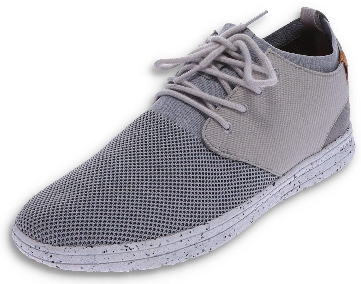Saola SEMNOZ II Light Grey vegan men's sneaker - grey