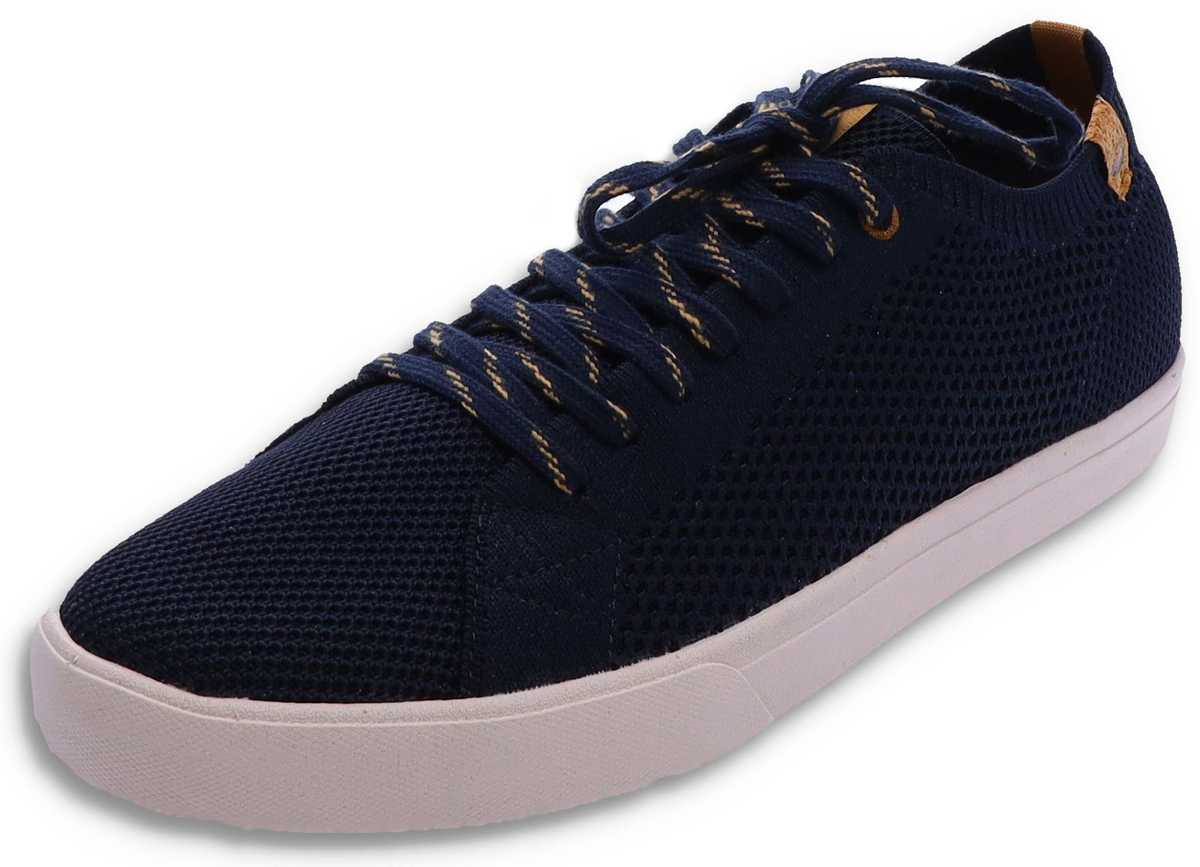 Saola CANNON KNIT Navy vegan Men's Sneaker - blue
