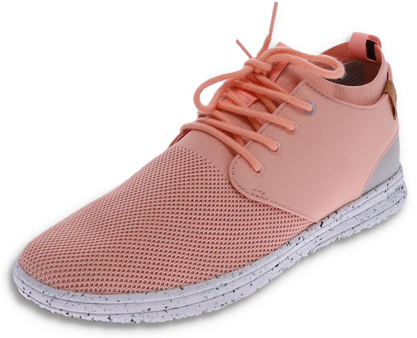 Saola SEMNOZ II Rose Gold vegan ladies sneaker - pink