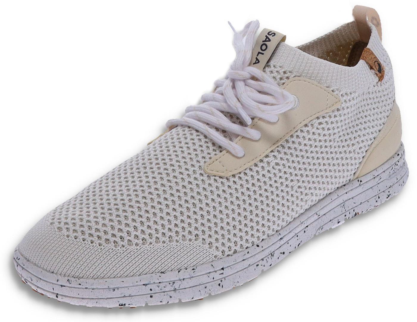 Saola MINDO White vegan ladies sneaker - white