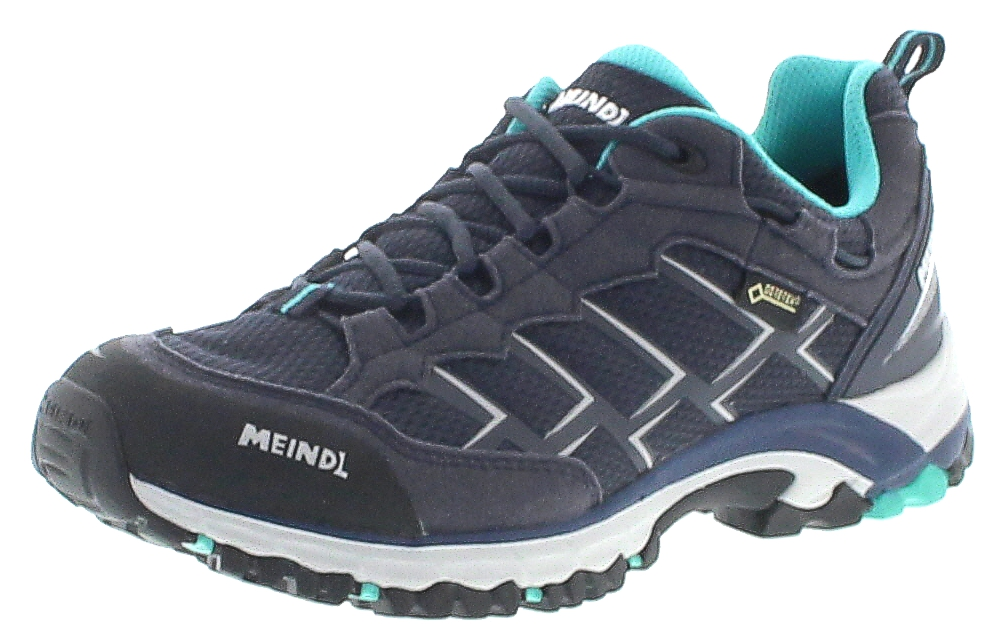 Meindl CARIBE LADY GTX Marine Turquoise Ladies Hiking Shoes Blue
