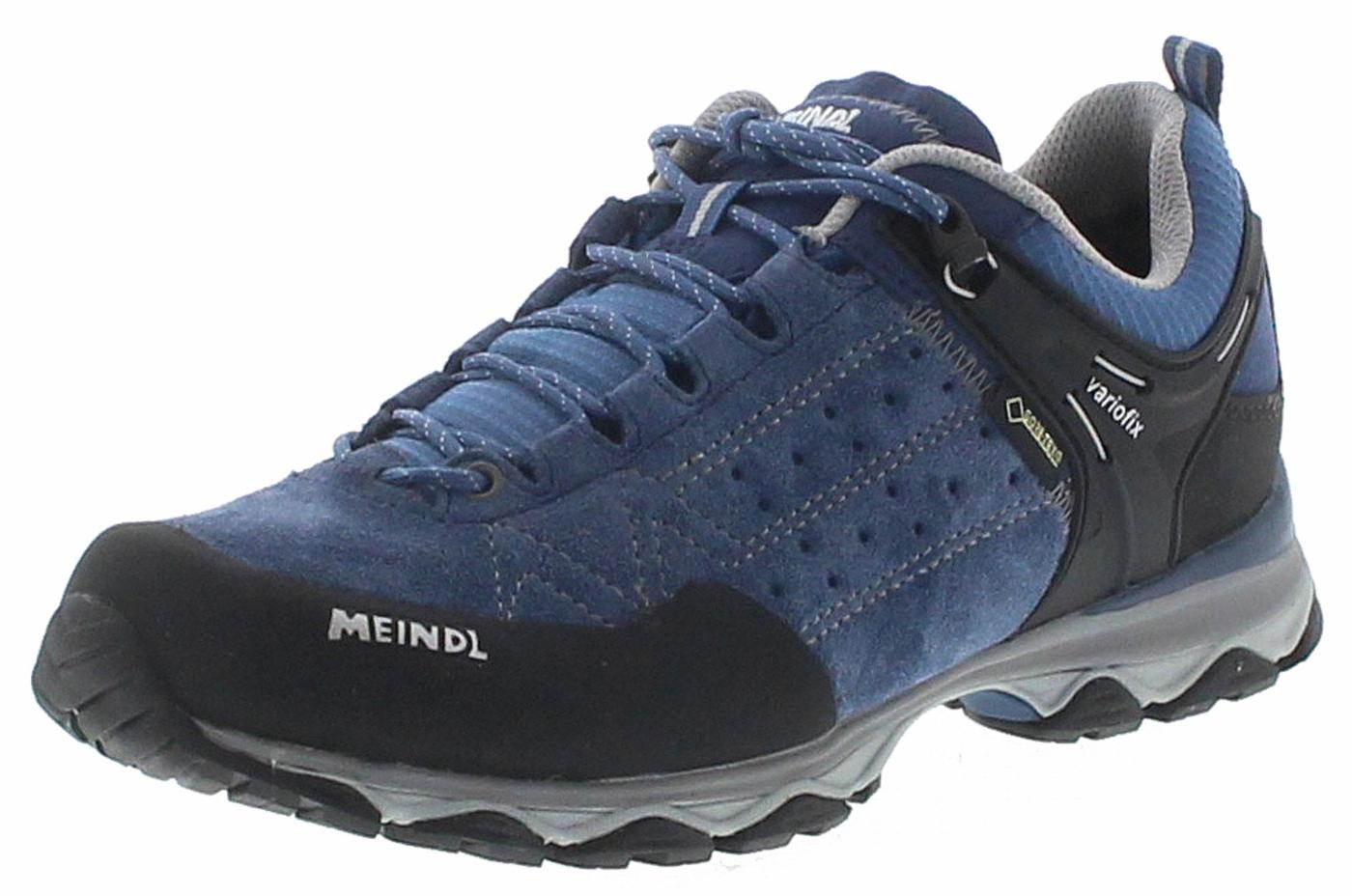 Meindl ONTARIO LADY GTX Jeans Grey Ladies Hiking Shoes Blue