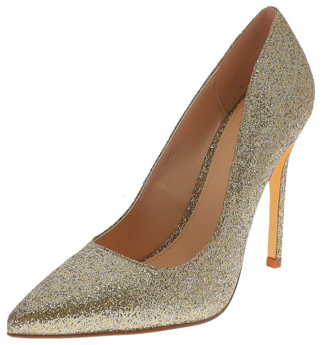 Buffalo AMICA party ladies pumps - gold