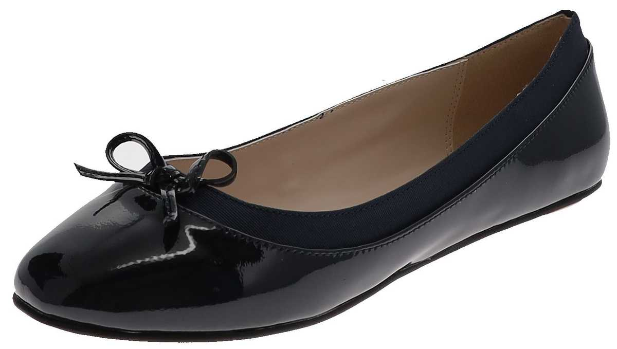 Buffalo ANNELIE Navy ladies ballerinas - blue