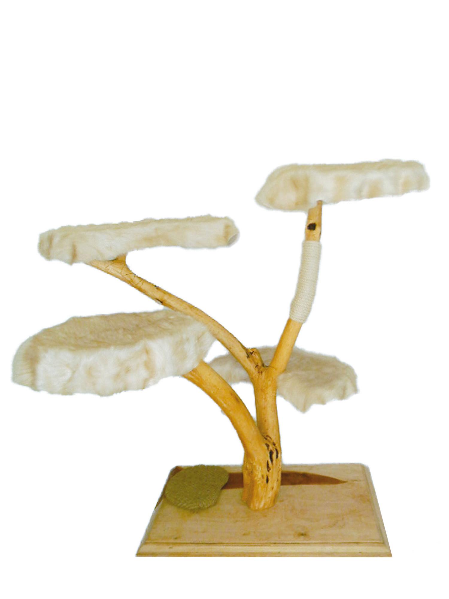 petcouture kratzbaum unikat 4190 weiß | mein-tiershop.de
