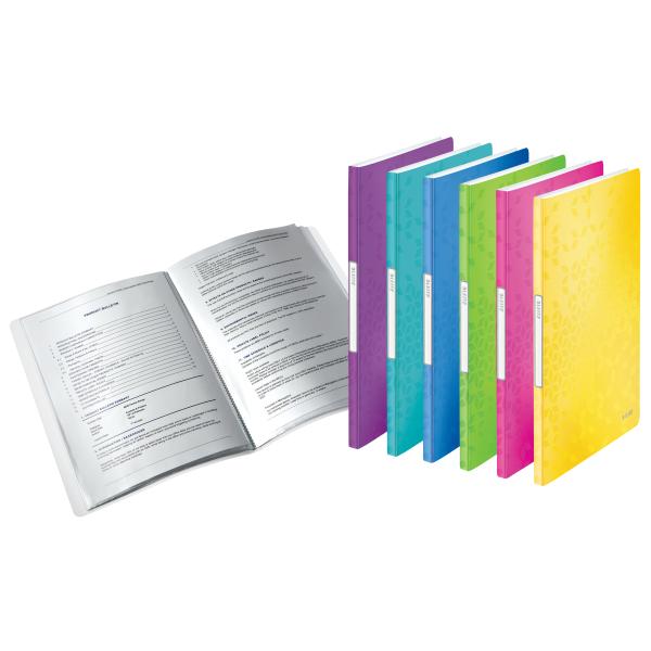 Leinenstruktur 74070085 VE:10 Stück C Leitz A4 Buchbindemappen grau Hard Cover
