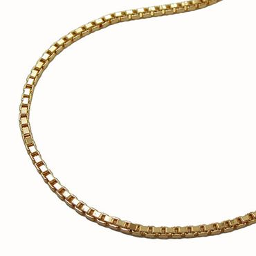 ASS Gold Double Damen Venezianer Kette Venezianerkette Collier Halskette 42/45/50cm
