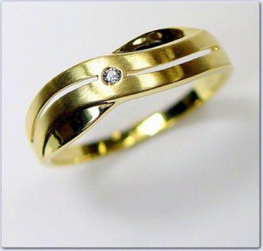 ASS 333 Gold Damen Zirkonia Ring Gr.16,17,18,19,20 NEU – Bild 2