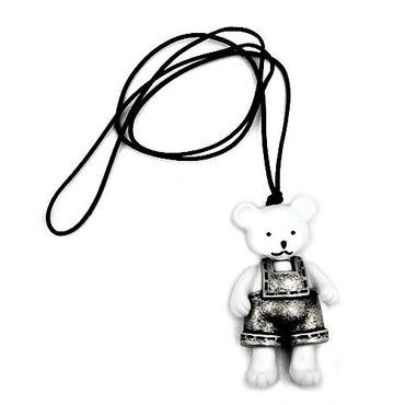Kette, Eisbär, Hose altsilber – Bild 3