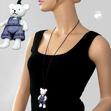 Kette, Eisbär, Hose jeansblau-schwarz – Bild 2