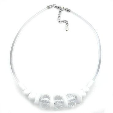 Kette, 3x Walze kristall-facettiert – Bild 3