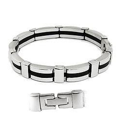 Armband, massiv, 9 Glieder, Edelstahl – Bild 4