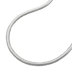Armband, Schlange 1,5mm rund Silber 925 – Bild 4