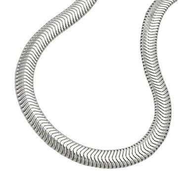 Armband, Schlange flach, Silber 925 – Bild 3