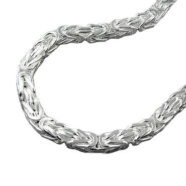 Armband, 6mm Königskette, Silber 925 – Bild 3