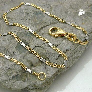 Armband, 19cm, Stegpanzer, 14Kt GOLD – Bild 2