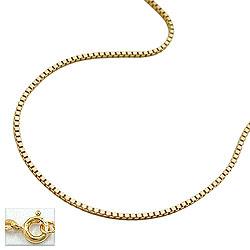 Kette, 42cm, Venezianer-Kette, 9Kt GOLD – Bild 4