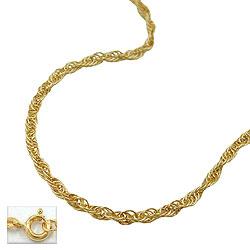 Kette, 42cm, Anker gedreht, 14Kt GOLD – Bild 4