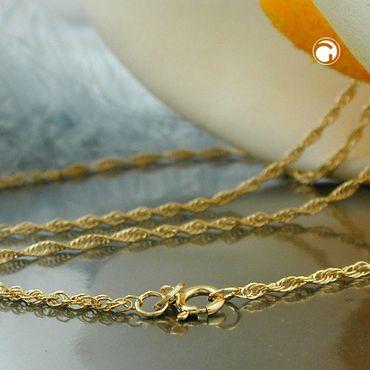 Kette, 42cm, Anker gedreht, 14Kt GOLD – Bild 2