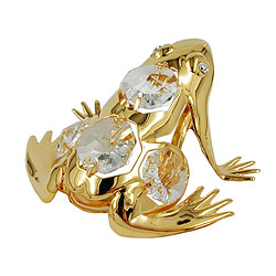 Frosch, mit Glas-Steinen – Bild 4