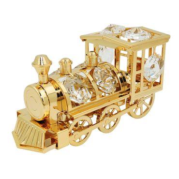 Lokomotive mit Glas-Steinen – Bild 1