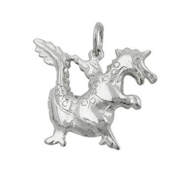 Anhänger, kleiner Drache, Silber 925 – Bild 3