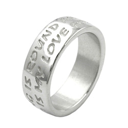 Ring, LOVE HAS NO END, Silber 925 – Bild 4