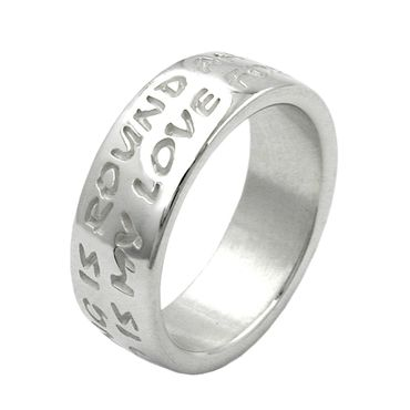 Ring, LOVE HAS NO END, 925 – Bild 1
