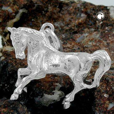 Anhänger, großes Pferd, Silber 925 – Bild 2