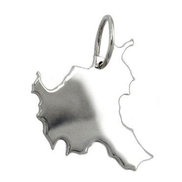 Anhänger, BRD-Bundesland HH, Silber 925 – Bild 1