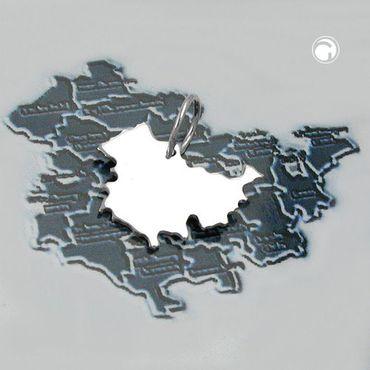 Anhänger, BRD-Bundesland TH, Silber 925 – Bild 2