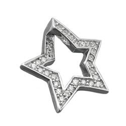 Anhänger Stern mit Zirkonias, Silber 925 – Bild 4