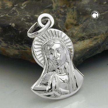 Anhänger, Maria betend, Silber 925 – Bild 2