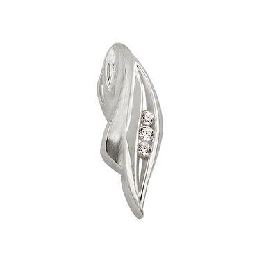 Anhänger, 3x Zirkonia, Silber 925 – Bild 3