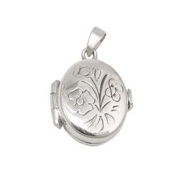 Anhänger - Medaillon, klein - Silber 925 – Bild 4