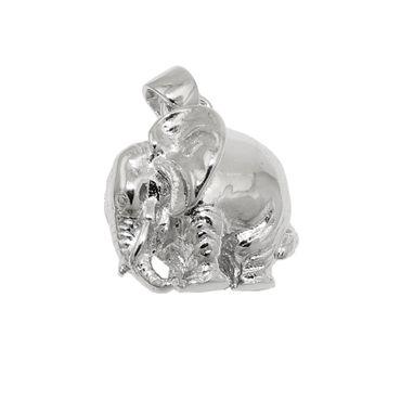 Anhänger, Elefant massiv, Silber 925 – Bild 1