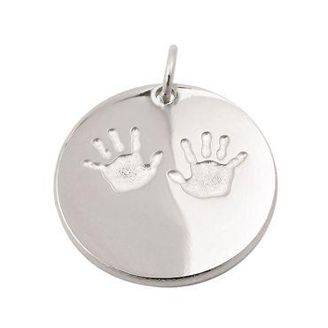 Anhänger Hände glänzend-matt, Silber 925 – Bild 1