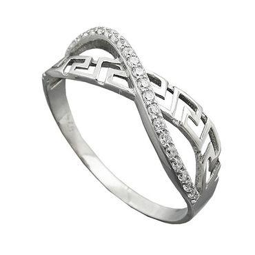 Ring, mit Zirkonias, Silber 925 – Bild 3