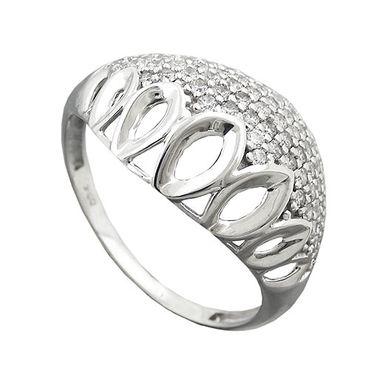 Ring, mit vielen Zirkonias, Silber 925 – Bild 3