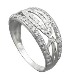 Ring, mit Zirkonias, Silber 925 – Bild 4