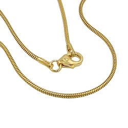 Kette, Schlange 50cm, 1.2mm, 14Kt GOLD – Bild 4