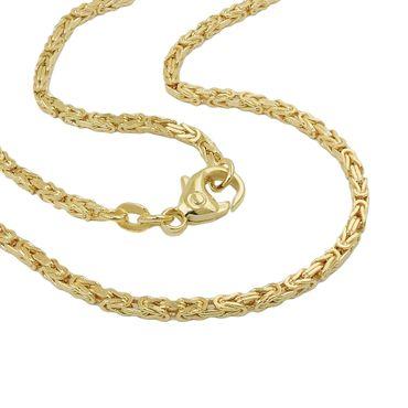 Armband Königskette 2x2mm 19cm 14Kt GOLD – Bild 1