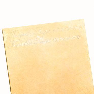 ASS 333 Gold Anhänger Runde Gravurplatte ohne Muster glatt mit Wunschgravur – Bild 4