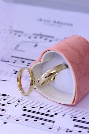 ASS 333 GOLD Paar 2 Stück Freundschaftsringe Verlobungsringe Partnerringe  Eheringe Ring Trauringe – Bild 1
