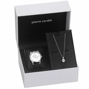 Pierre Cardin Uhr PC107892F09 Troca Geschenk Set Schmuck – Bild 2