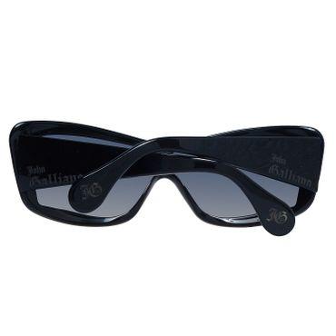 John Galliano Sonnenbrille JG0004 01A – Bild 3