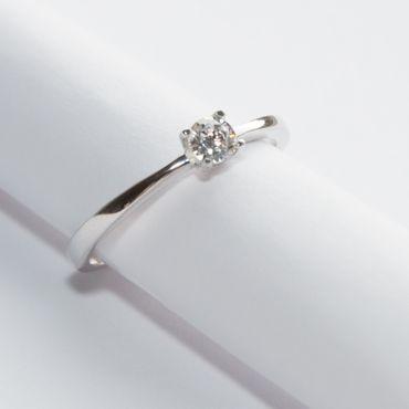 ASS 925 Sterling Silber Damen Ring mit Zirkonia Gr.17 – Bild 3